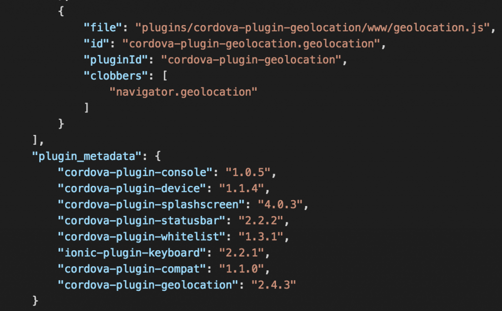 Ionic 3 and Cordova Native plugins installation