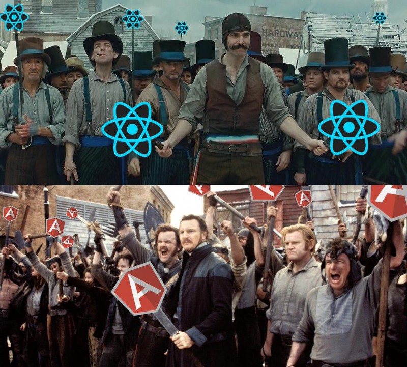 react-vs-angular