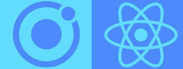 Ionic react in one go